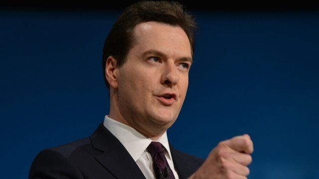 George Osborne , Conservative Party Conference at the ICC in Birmingham,