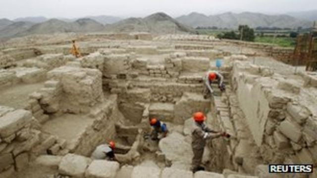 Ancient Wari royal tomb unearthed in Peru