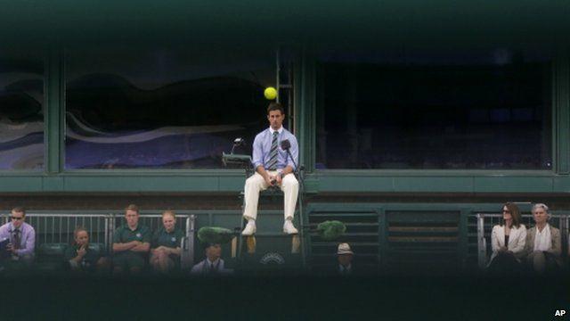 Umpire at Wimbledon
