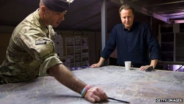 Cameron pledges Afghanistan memorial in Staffordshire