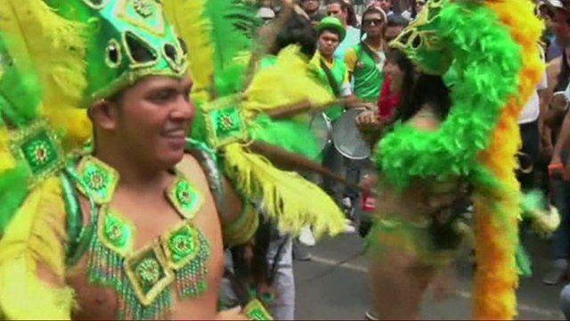 Gay Pride parade in Mexico