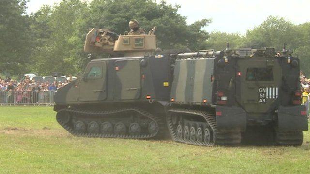 Royal Marines tank