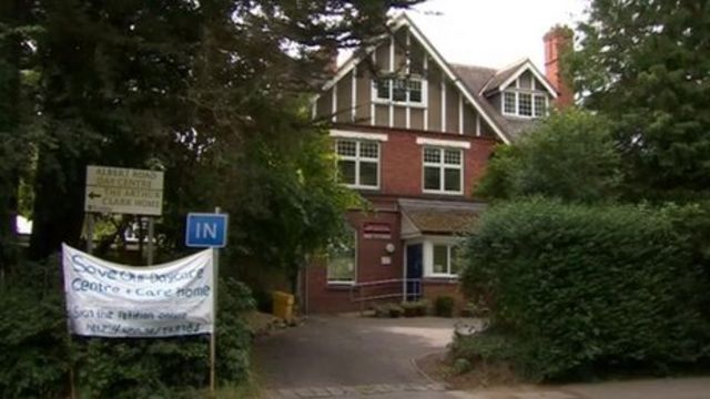 Arthur Clark care home Caversham