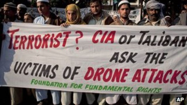 Suspected US drone 'kills 17' in north-west Pakistan