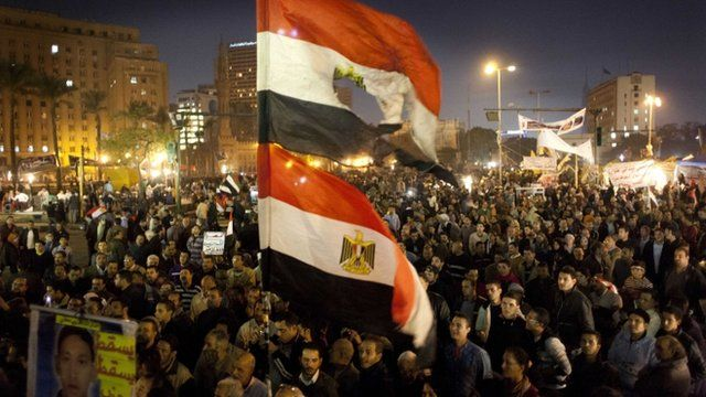 Anti Morsi Constitution demonstrations