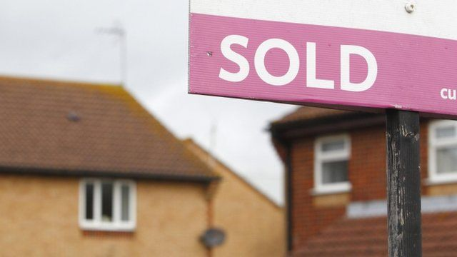 """File photo dated 02/10/2012 of a general view of an estate agent""""s """"Sold"""" sign outside a property"""