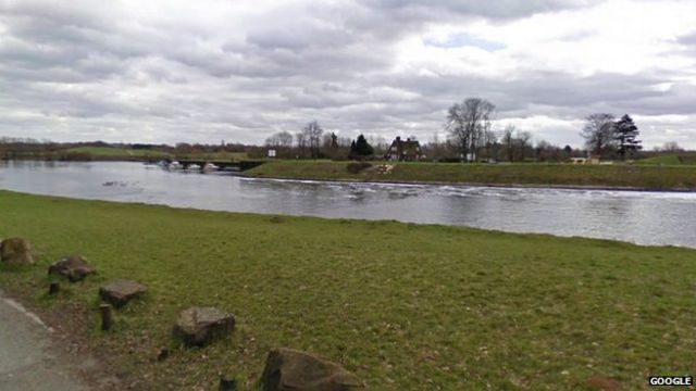 'Dead body' in River Trent is actually alive