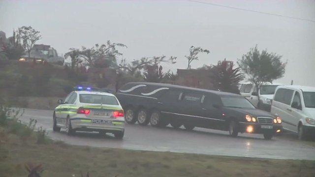 A hearse