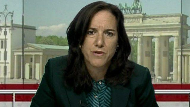 Robin Hodess from Transparency International