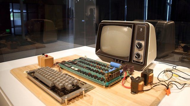 Apple-I computer, built in 1976