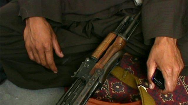 Taliban member