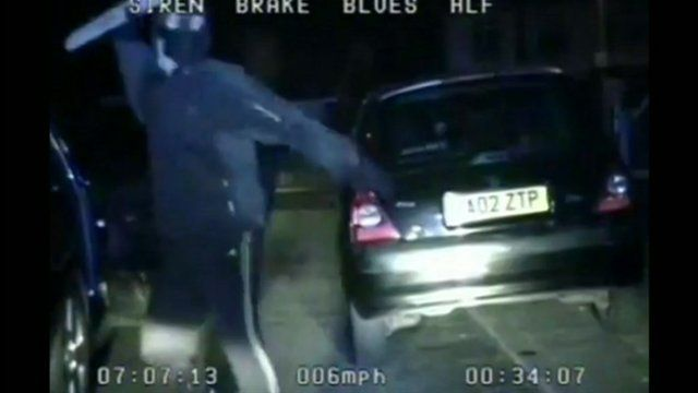 Greater Manchester Police car attack