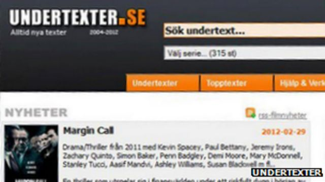Undertexter subtitle translation site raided by police