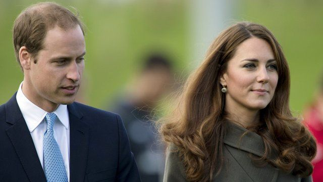 Duke and Duchess of Cambridge on 9 October 2012