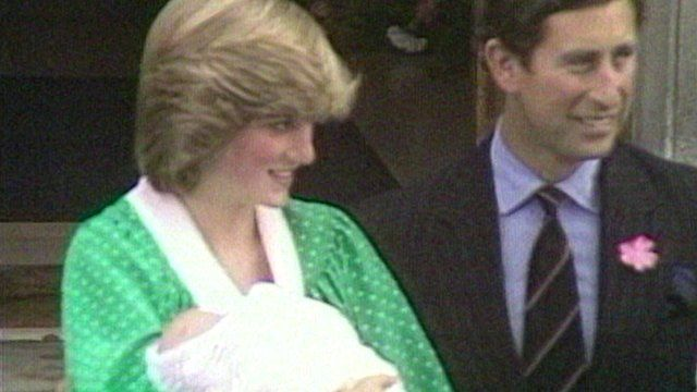 Prince William's birth