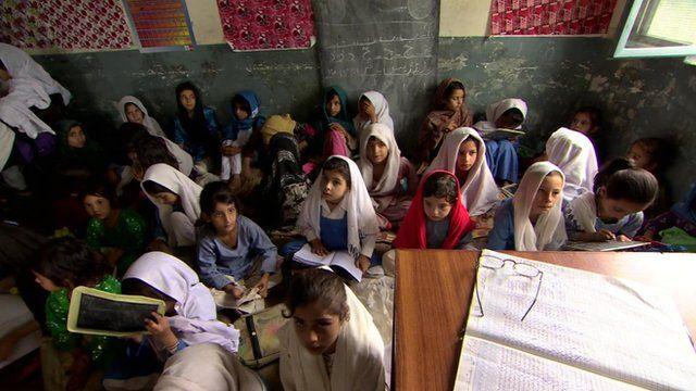 Schoolchildren in Pakistan