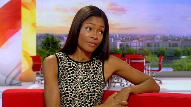 Naomie Harris on BBC Breakfast