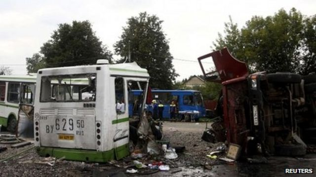Russian bus and lorry in fatal Moscow crash
