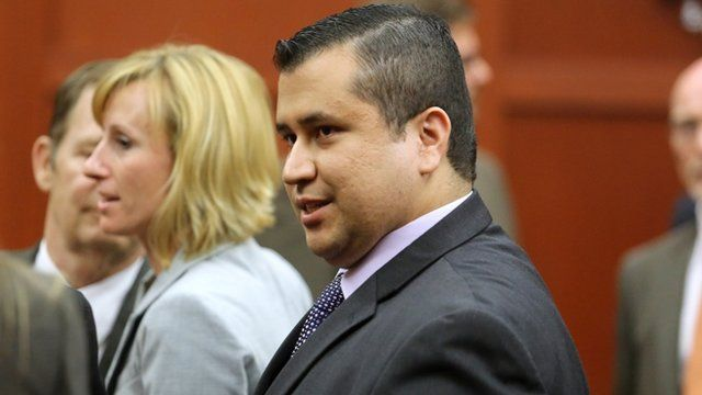 George Zimmerman after being found not guilty of murdering Trayvon Martin
