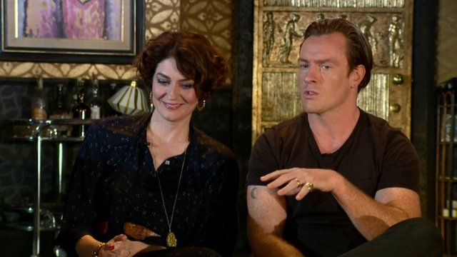 Anna Chancellor and Toby Stephens on The Andrew Marr Show