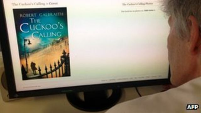 JK Rowling revealed as author of The Cuckoo's Calling