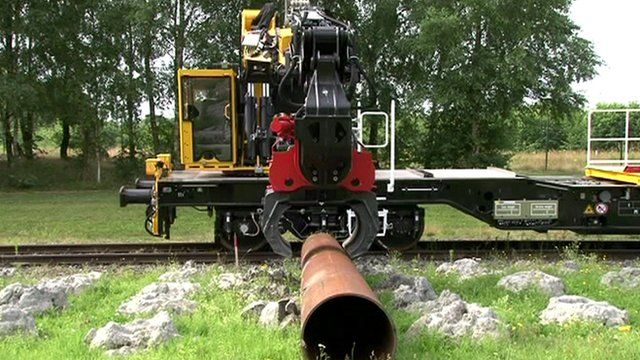 German train that will renew parts of Great Western Railway