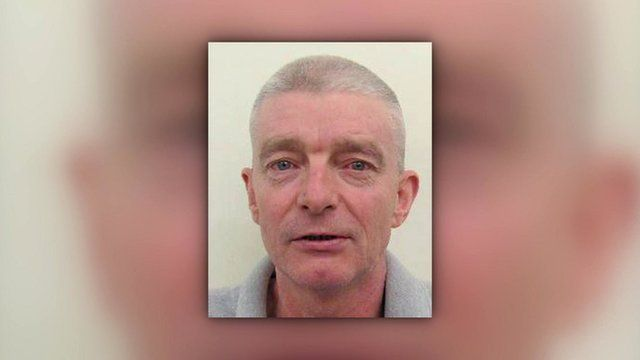 Police have released this photo of Ian John McLoughlin, who is wanted in connection with the death of Graham Buck