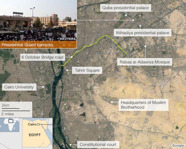Egypt turmoil: Seven killed in Cairo clashes