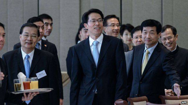 Zhang Xiaoming, head of the city's Beijing liaison office