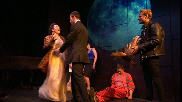 Performance of Shakespeare's A Midsummer Night's Dream