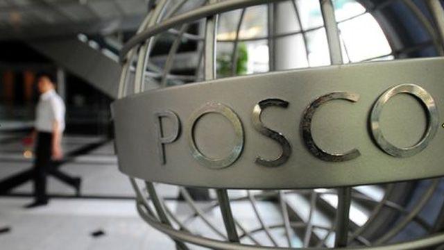 Posco headquarters in Seoul