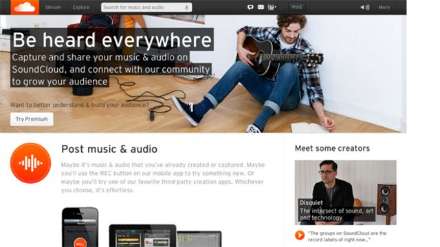 SoundCloud boss puts in the air miles