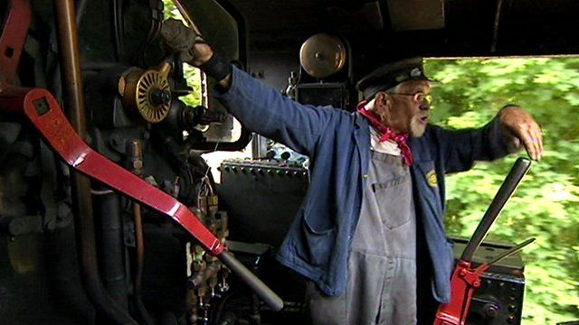 Roger, driver of the Cornish Belle