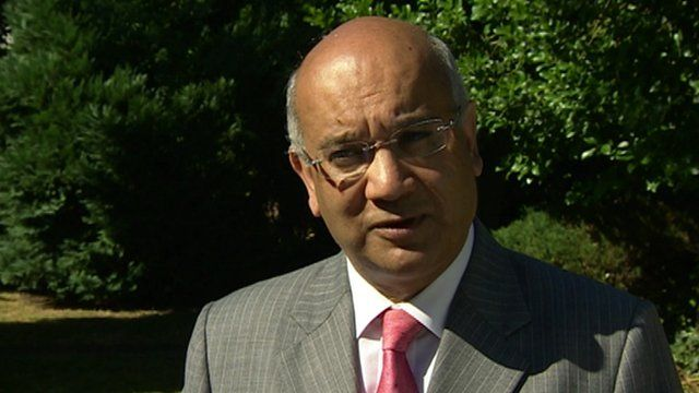 Keith Vaz, Commons Home Affairs Committee chairman