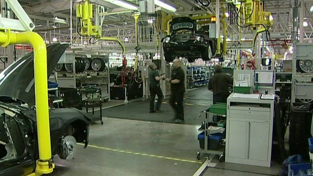 UK manufacturing is increasing