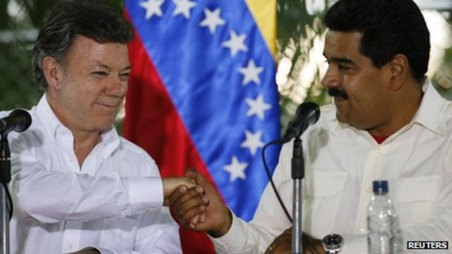 Venezuela and Colombia agree to mend strained relations