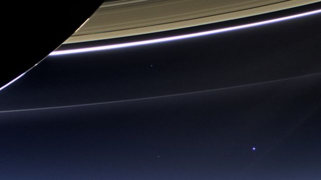 Cassini probe takes image of Earth from Saturn orbit