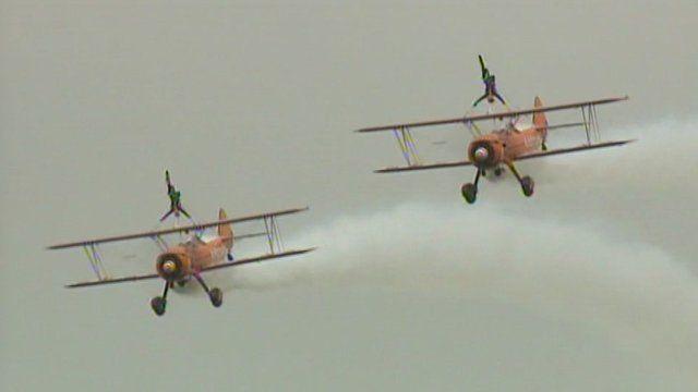 Aeroplanes at Culdrose Air Day 2013