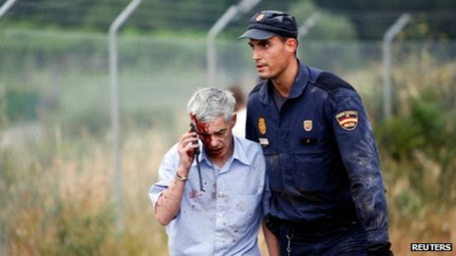 Spain train crash: Driver Garzon declines to give evidence