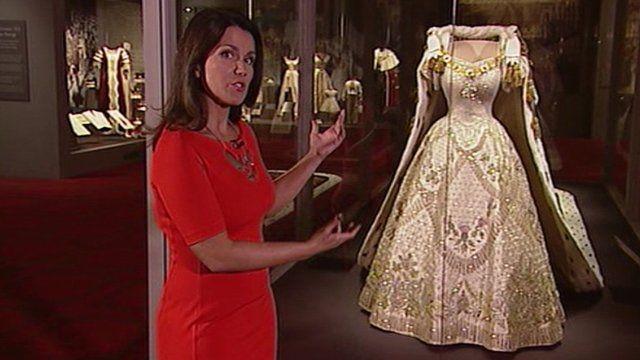 Susanna Reid and the Queen's coronation dress