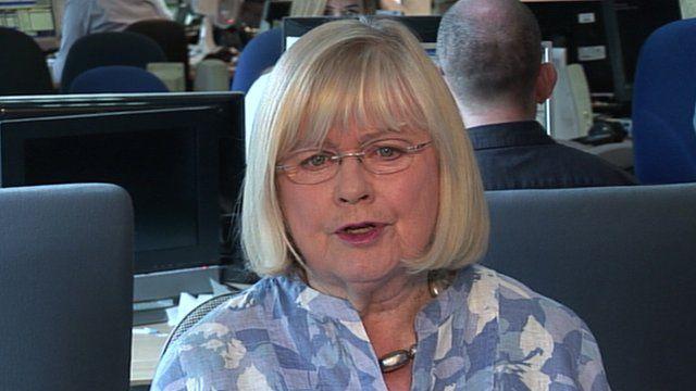 Cynon Valley MP Ann Clwyd