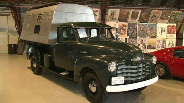 Steve McQueen's van