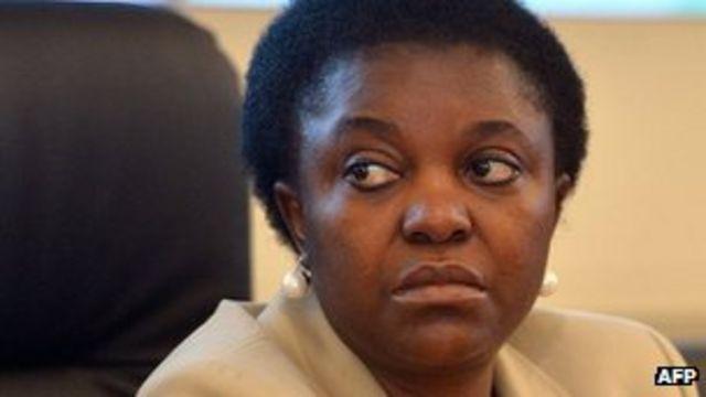 Black Italian minister Kyenge suffers banana insult