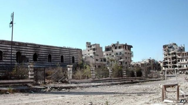 Syrian army 'makes key gains in Homs'