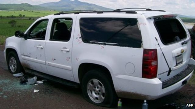 Mexican Admiral Carlos Salazar killed in Michoacan ambush