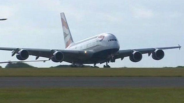 The A380 superjumbo