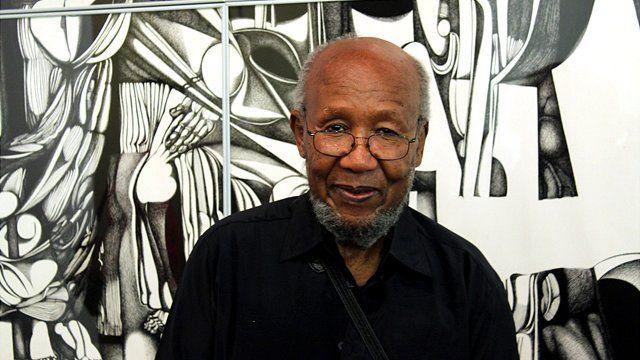 Ibrahim El-Salahi Photo: Manuel Toledo, BBC Africa