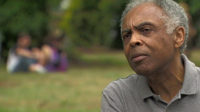 Brazilian musician, campaigner and former Minister of Culture, Gilberto Gil