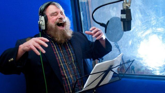 Brian Blessed recording