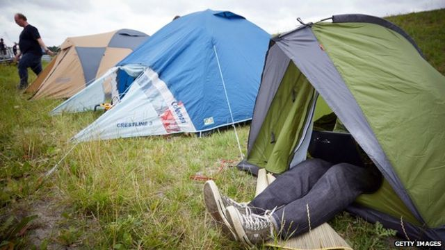 Carry on camping - can a week under canvas reset our body clocks?